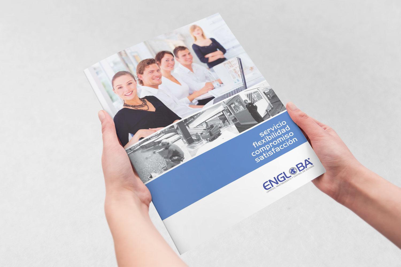 Engloba: Diseño de Catálogo Corporativo